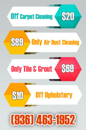Carpet Cleaning Conroe Texas Coupon